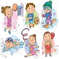 ورزش کودکان - دانش آموزی
